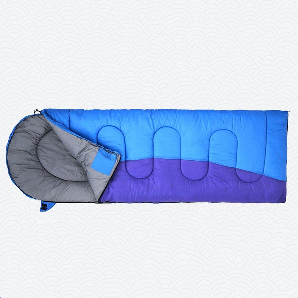 CAICOLOR 軽量の寝袋、ハイキングコンパクトな寝袋、アウトドア、キャンプのための4シーズン、縫い付けが可能で完全に展開 (版 ばん : B) B07D33HD1P B  B