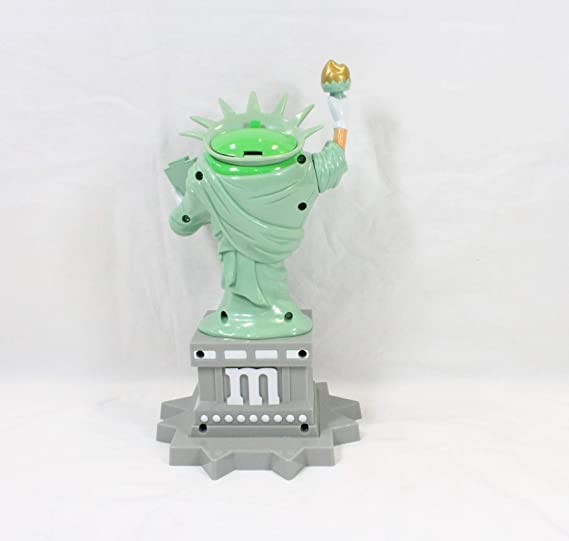 Amazon.com: M&Ms World Statue of Liberty Candy Dispenser New: Toys & Games