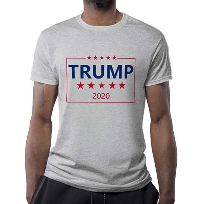 Amazon.com: Camisa Trump 2020 USA para hombre - Make America ...