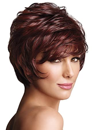Amazon.com : LuxHair WOW by Daisy Fuentes New Angle, Dark Ash Blonde, 1 ea : Beauty