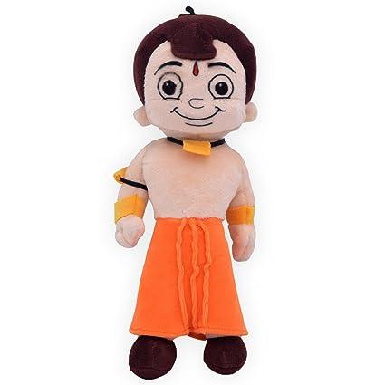 4471bc5aa Buy Chhota Bheem Plush Toy, Orange (22 cm) Online at Low Prices in India -  Amazon.in