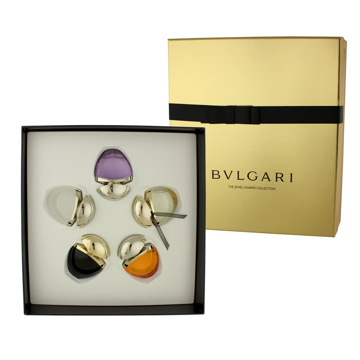 Bvlgari Jewel Charms Collection Extraordinary Perfume Gift Set - Pack of 5 0783320805158