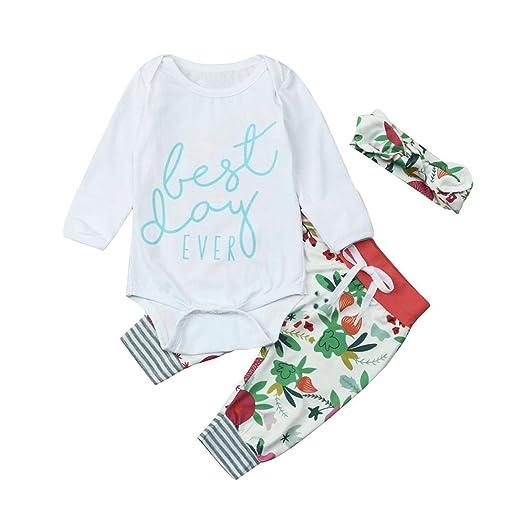 cde098178b5d Amazon.com  G-real Newborn Infant Baby Girl Long Sleeve Letter ...