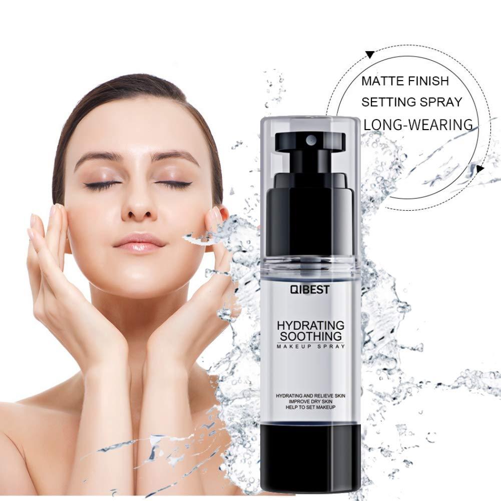 Maquillage Vaporisateur, Aesy Longue Durée Hydratant Éclairer Makeup Réglage Spray (A)