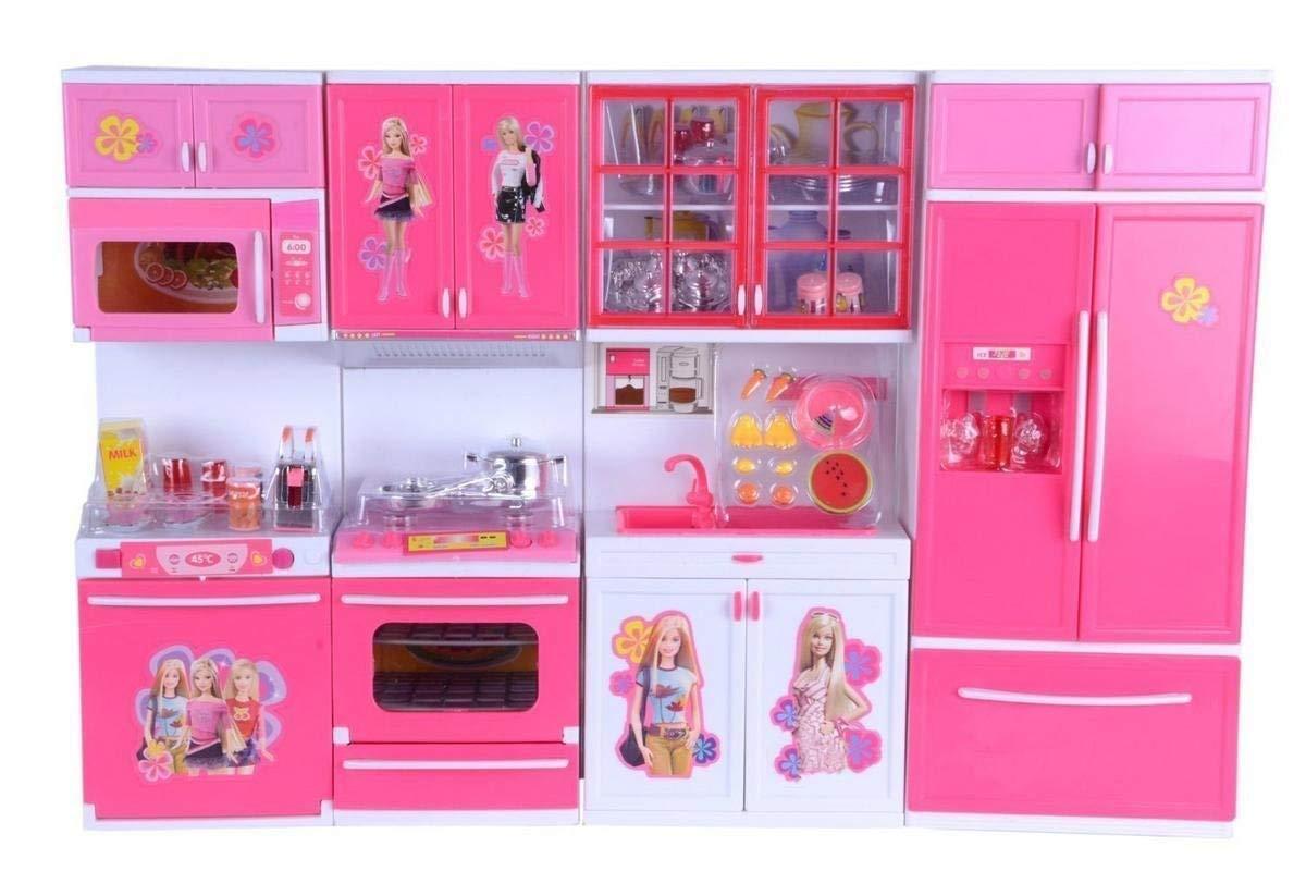 Barbie Kitchen Set For Girls Cheap Online