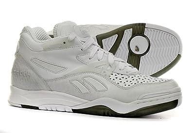 97d3e5649b07 Reebok Pump Court Victory II Mens Tennis Shoes White
