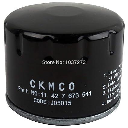 Amazon.com: Sala-Ctr - Filtro de aceite negro para Piaggio ...