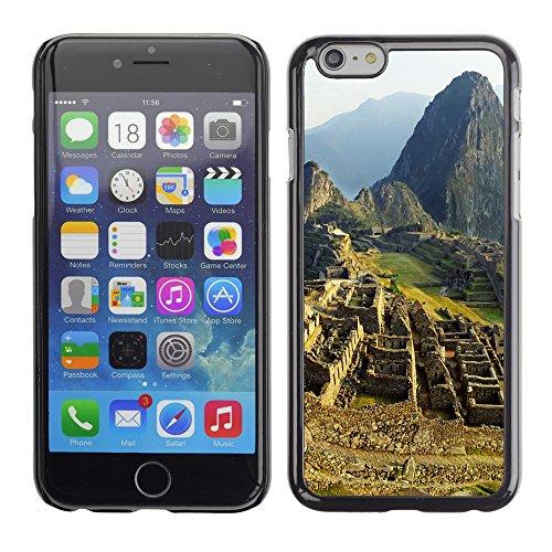 """Premio Sottile Slim Cassa Custodia Case Cover Shell // V00002678 Machu Picchu // Apple iPhone 6 6S 6G PLUS 5.5"""""""