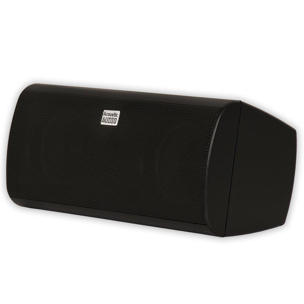 Acoustic Audio by Goldwood Acoustic Audio AA35CB Indoor Center 3 Way Speaker 400 Watts Black Bookshelf, 3-Inch