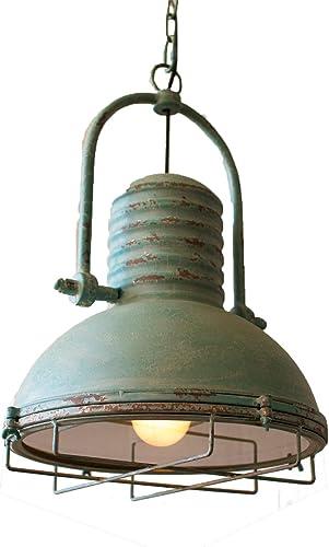 KALALOU Antique Turquoise Pendant Light, One Size, Green