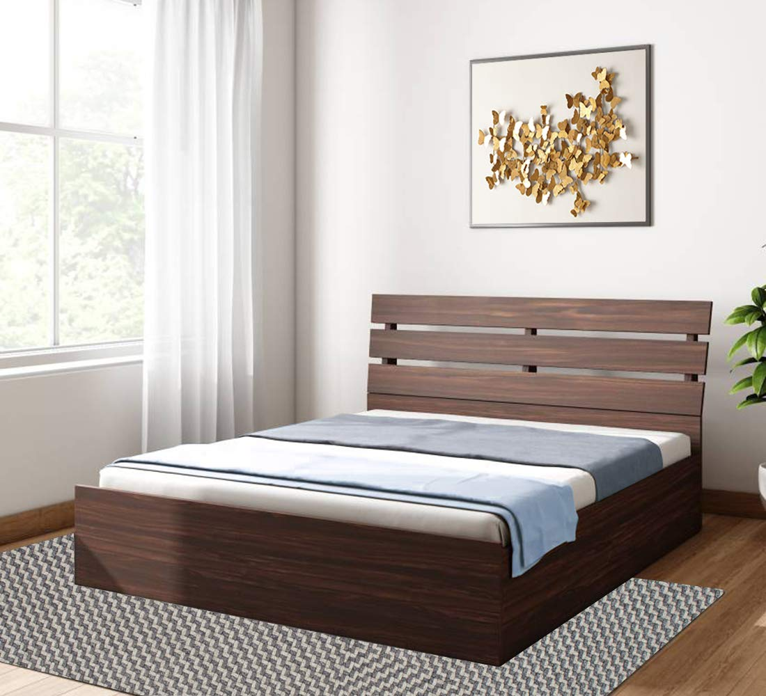 Bharat Lifestyle Havana Queen Size Solid Wood Bed With Box