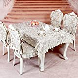DIDIDD American-Style Tablecloths Table Cloth Table Cloth Faric Coffee Table Tv Stand Table Cloth,A,145x210cm(57x83inch)