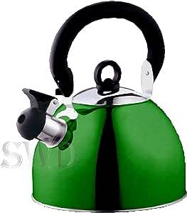 Prima - Hervidor eléctrico, color verde