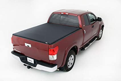 0a9c1bf328f Image Unavailable. Image not available for. Color  Lund 958121 Genesis  Elite Tri-Fold Truck Bed Tonneau Cover for 2007-2018 Toyota