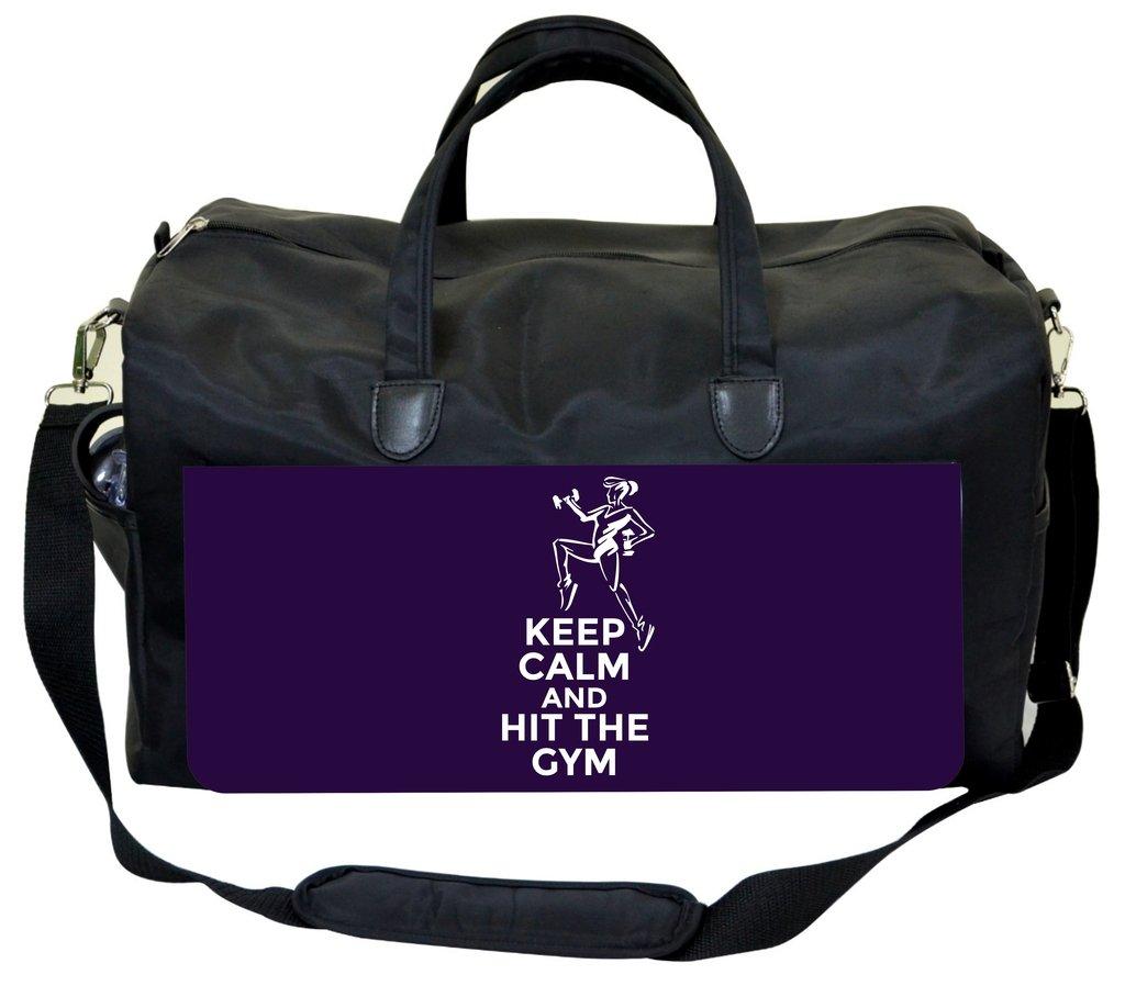 Jacks Outlet Keep Calm and Hit the Gym Gym Bag