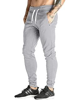 MODCHOK Hombre Pantalones Largos Deportivos Ch¨¢ndal Jogger Chino Jogging  Cargo Algod¨® e716ef5e2402