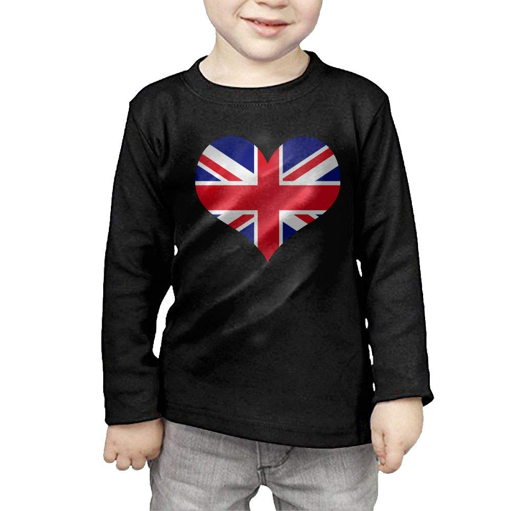 Fryhyu8 Toddler Childrens Flag Hawaii Heart Printed Long Sleeve 100/% Cotton Infants Clothes