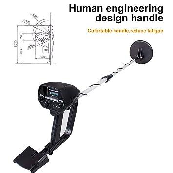 Detector de metales subterráneo profesional de 6.5 pulgadas Detectores de oro ajustables Detector de circuitos de metal Treasure Hunter Tracker Seeker ...