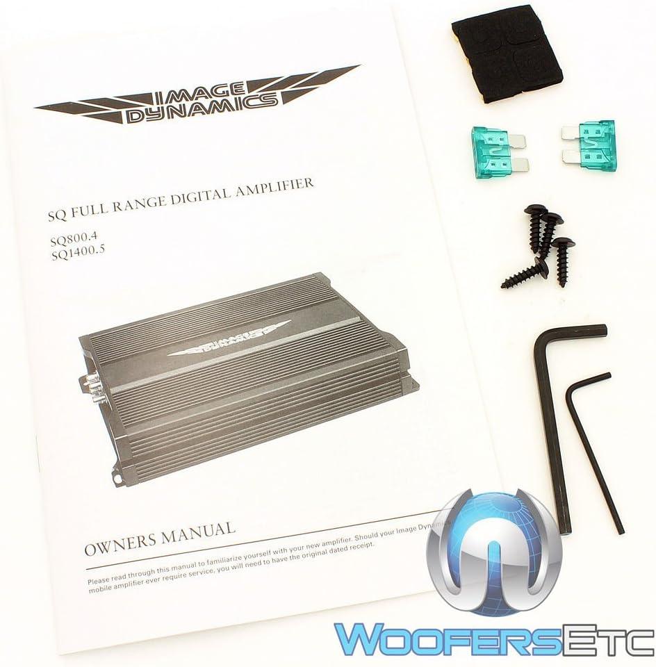 Electronics Amplifiers ghdonat.com Image Dynamics SQ1400.5 5 ...
