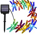 solar string lights(200 led color\warm white,blossom led)