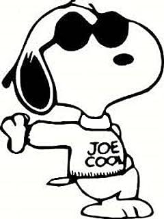 Snoopy Joe Cool Decal//Autocollant Die Cut