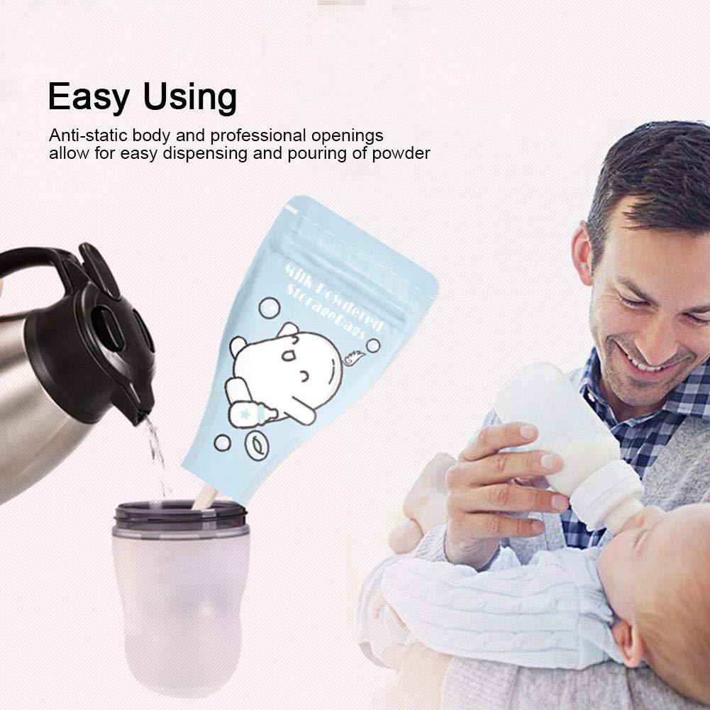 30 St/ücke Baby Milchpulver Spender Tasche Tragbare Abgabe F/ütterung Milch Aufbewahrungsbeutel Einweg Milchpulver Beutel f/ür Reise