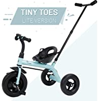 R for Rabbit Tiny Toes Lite Smart Plug and Play Baby Tricycle Trike Cycle for Kids of 1.5 to 5 Years with Parental Control (Lake Blue)