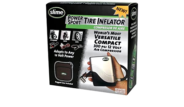 Amazon.com: ITW Global Brands Slime 40001 Motorcycle Tire Inflator: Kitchen & Dining