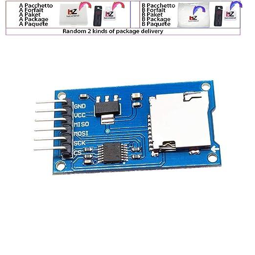 Tarjeta de memoria SD Micro SD TF Módulo Shield Shield SPI ...