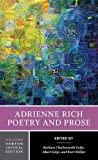 img - for Adrienne Rich: Poetry and Prose (Second Edition) (Norton Critical Editions) book / textbook / text book