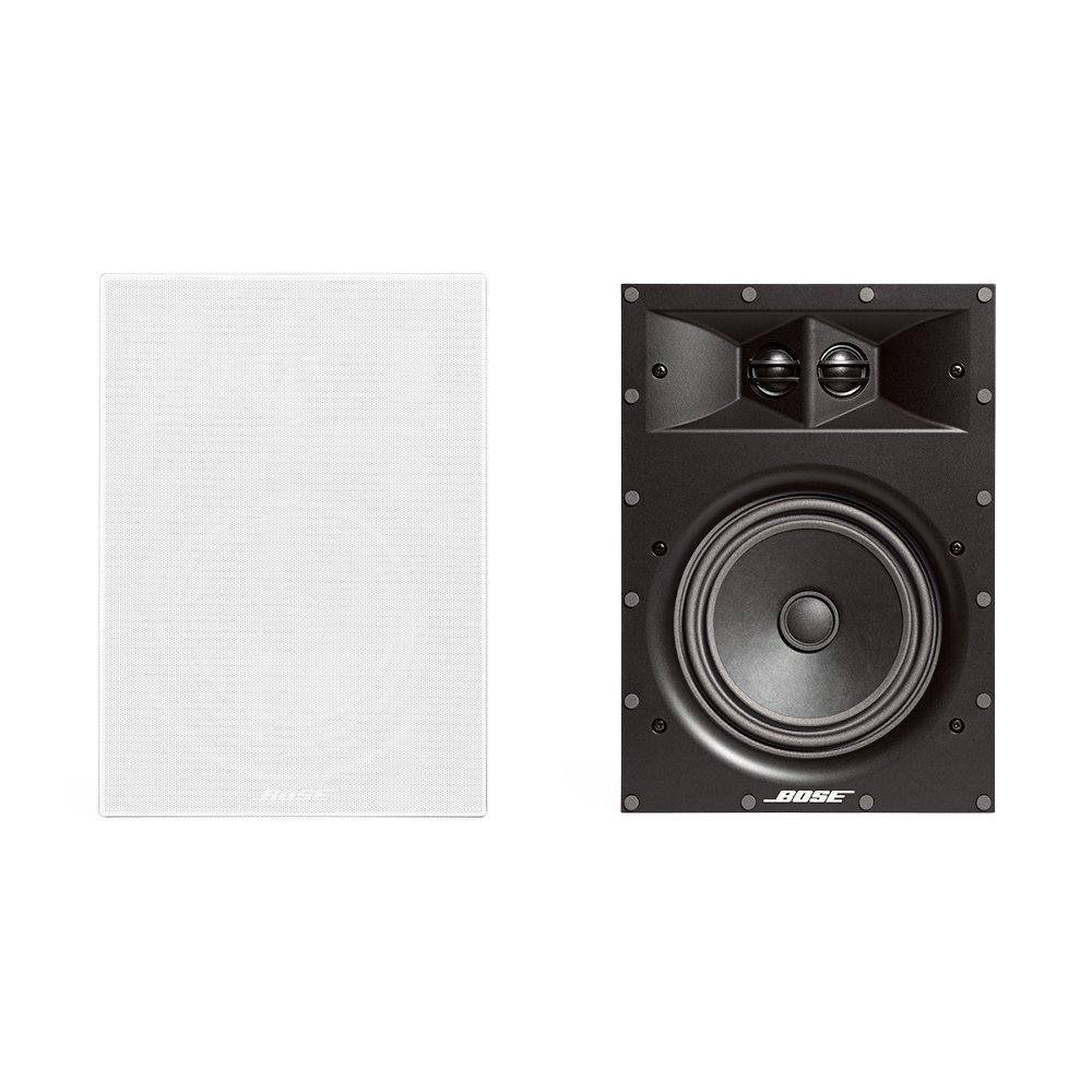 Bose Virtually Invisible 891 In-Wall Speaker- Pair (White) by Bose