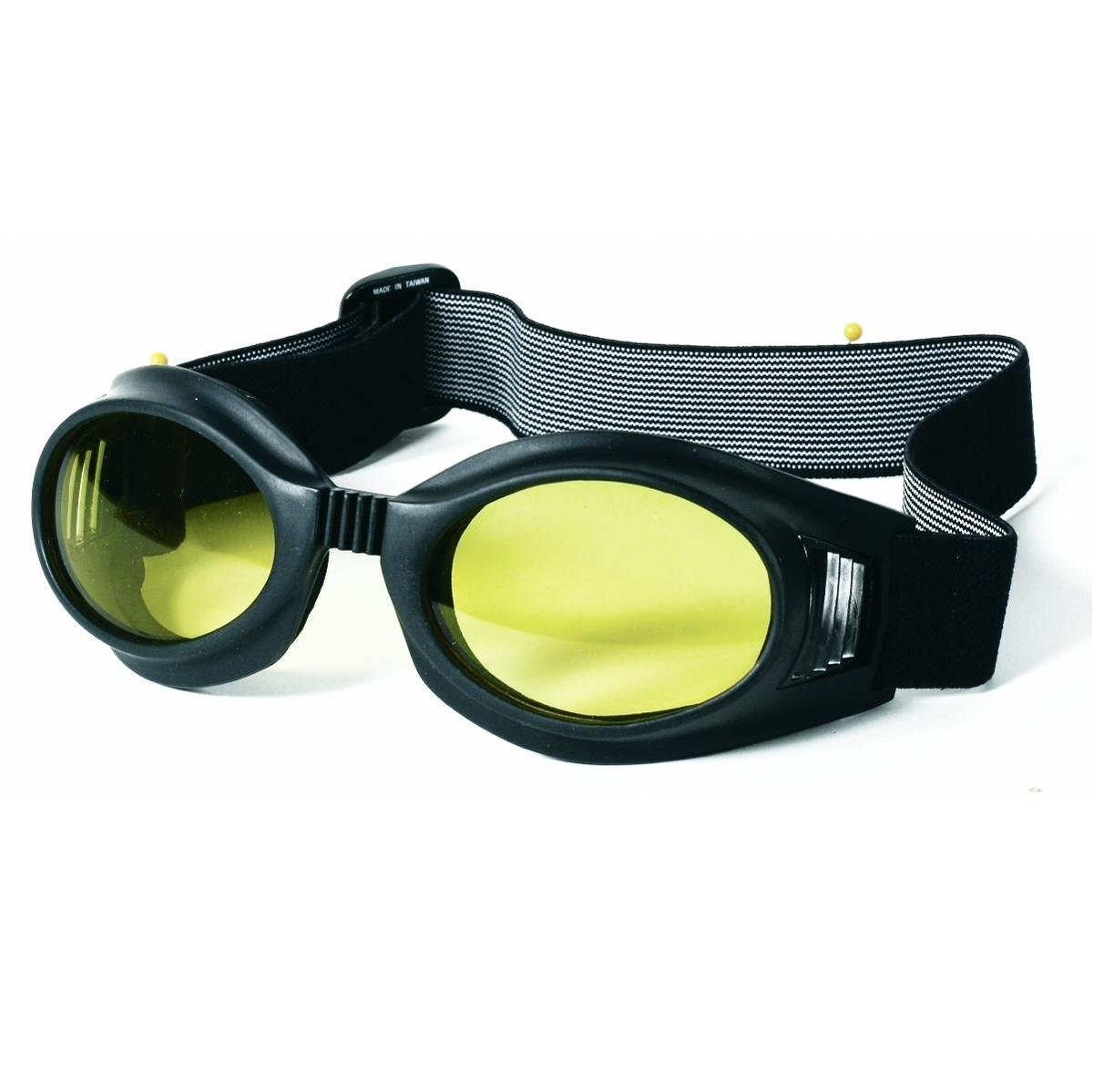 Mil-Spec Adventure Gear Plus MSA02-8828017000 Flex Frame Goggle with Yellow Lens, Black by Mil-Spec Adventure Gear Plus