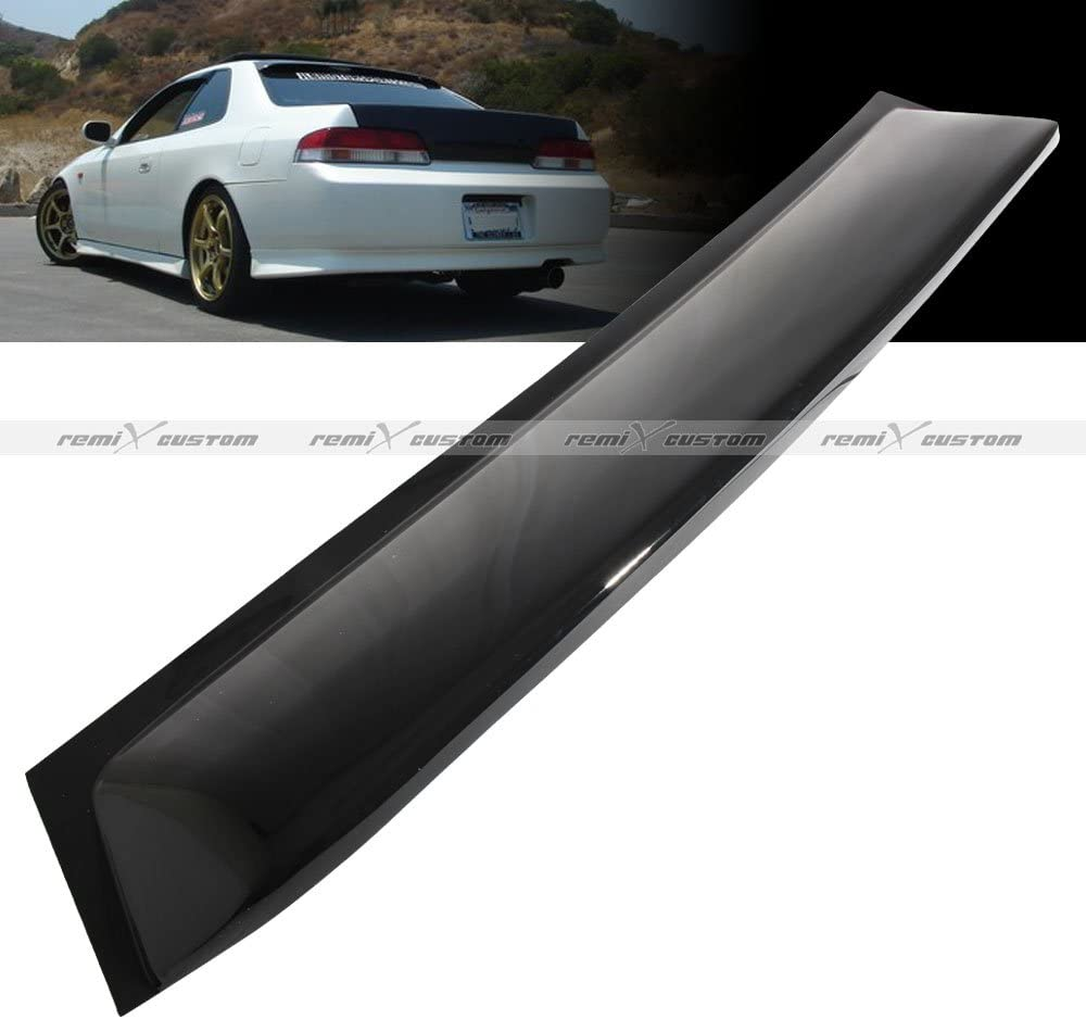 Remix Custom for 1997-2001 Honda Prelude Rear Roof Window Guard Shade Visor Spoiler Wing