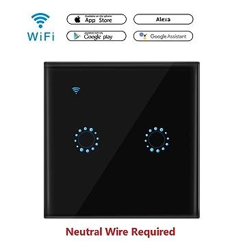 WiFi Smart Touch Schalter funktioniert mit Amazon Alexa und Google ...