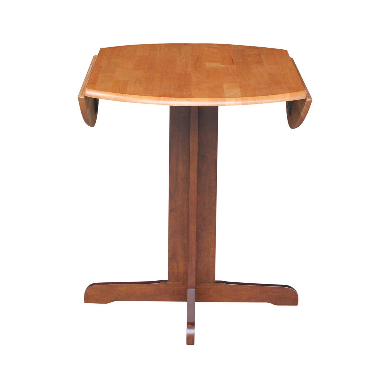 d97cf1a71ef Amazon.com - International Concepts Dual Drop Leaf Dining Table ...