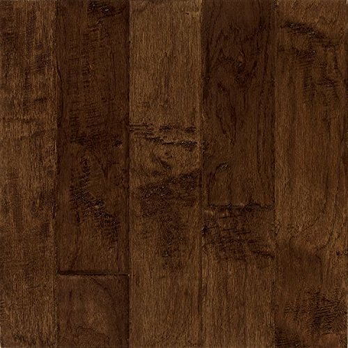 Bruce Hardwood Floors EEL5202A Frontier Hand-Scraped Wide Plank Engineered Hardwood Flooring, Bison