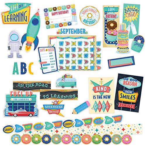 Mid-Century Mod Collection Classroom Decor Kit by Creative Teaching Press