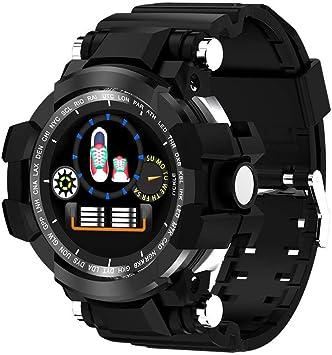 12shage Reloj Inteligente Hombre, IP68 Smartwatch con Pulsera ...