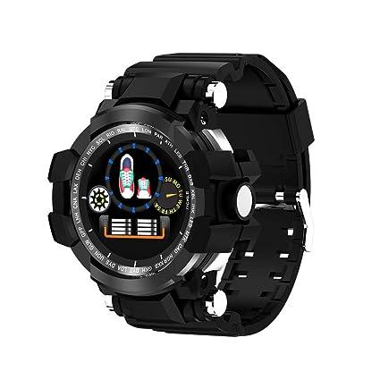 12shage Reloj Inteligente Hombre, IP68 Smartwatch con ...