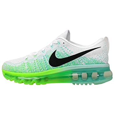 NIKE Wmns Flyknit Max White Electric Green (620659 101)