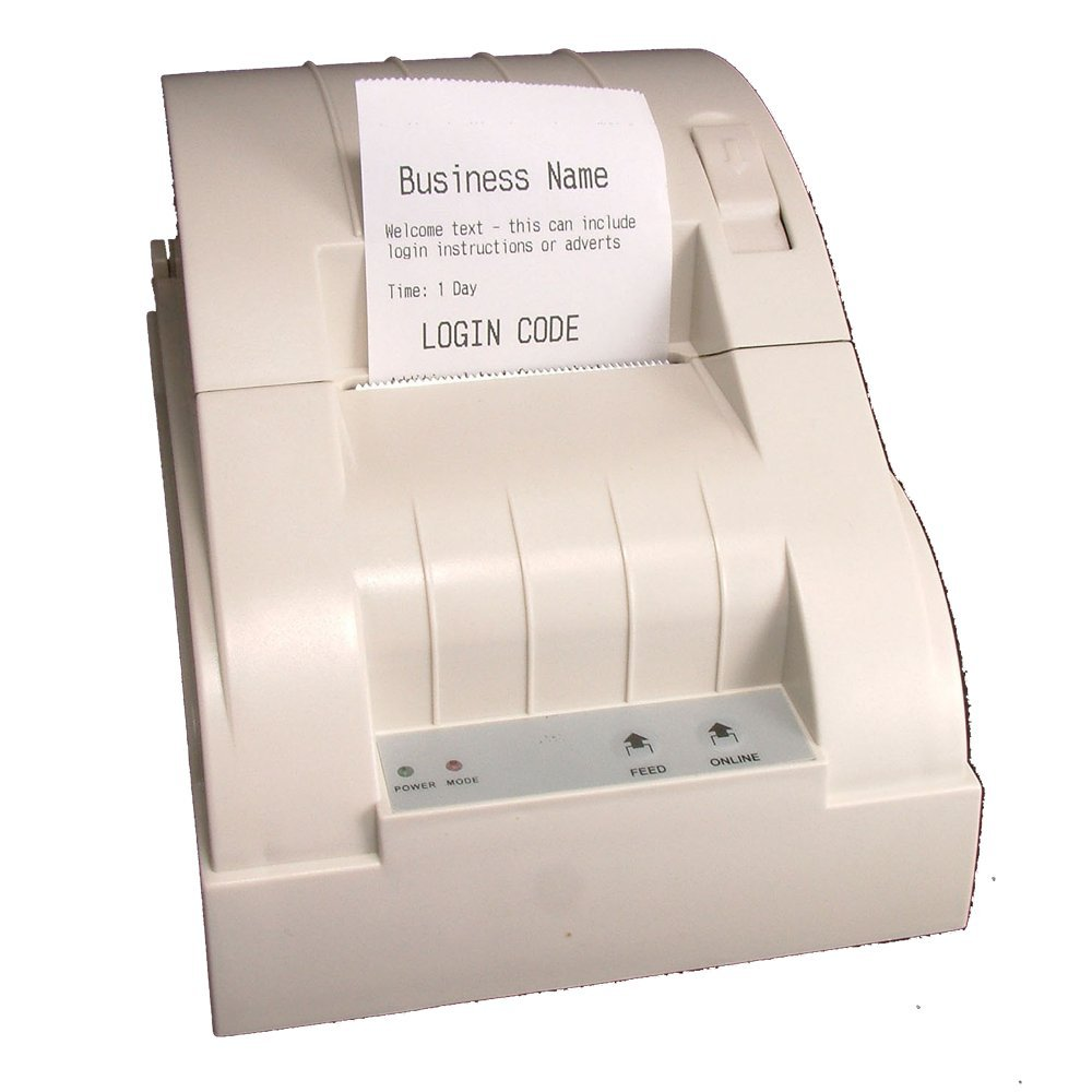 GIS-TP1 Ticket Printer for Guest Internet Hotspot Gateways