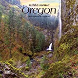 Oregon Wild & Scenic 2020 7 x 7 Inch Monthly Mini Wall Calendar, USA United States of America Pacific West State Nature