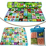 NEW 200 X 180CM 2 SIDE KIDS CRAWLING EDUCATIONAL GAME BABY PLAY MAT SOFT FOAM CARPET- WATERPROOF AND HUMIDITY PROOF.