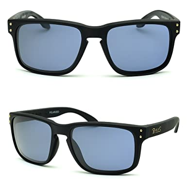 dee70bc9198 BNUS Italy made Classic Sunglasses Corning Real Glass Lens w. Polarized  Option (Frame  Matte Black  Amazon.in  Clothing   Accessories