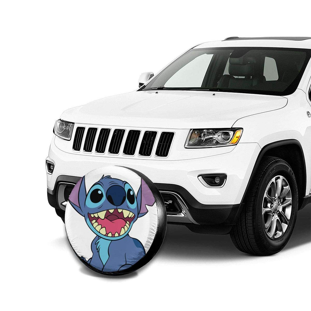 Spare Tire Cover Lilo Stitch Universal Waterproof Dust-Proof Wheel Covers