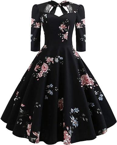 Cerco Vestiti Eleganti Per Cerimonia.Mambain Vestiti Donna Eleganti Abito Donna A Fiori Vistiti Donna