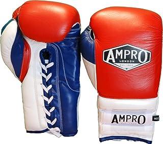 Ampro Mirage V2Guantoni professionali con lacci da allenamento, colorerosso/bianco/blu navy