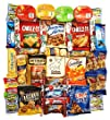 OxBox 46 Care Package of Ultimate Sampler Mixed Bars, Cookies, Chips, Candy Snacks for Office, Meetings, Schools, Friends & Family, Military, College, Fun Variety Pack