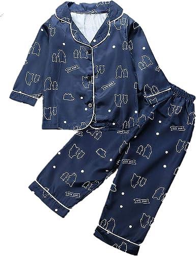 Conjunto de Pijama para niños Conjunto de Pijama de Dibujos ...