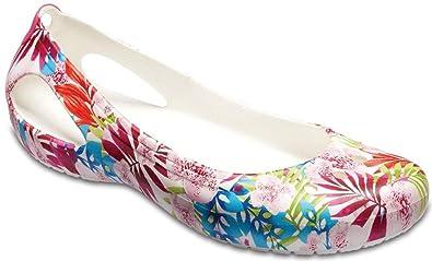 e9303400ab308b Crocs Women s Kadee Graphic W Flat  Amazon.co.uk  Shoes   Bags